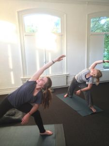 Yogalessen in Enschede